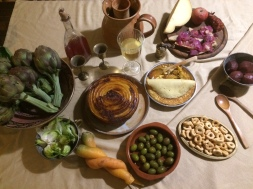 Medieval dinner at Trullo Cicerone