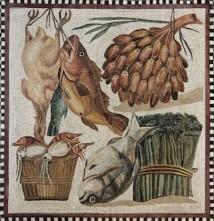 Roman mosaic, 2nd century AD, Museo Vaticano