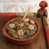 lentils with chestnuts 1